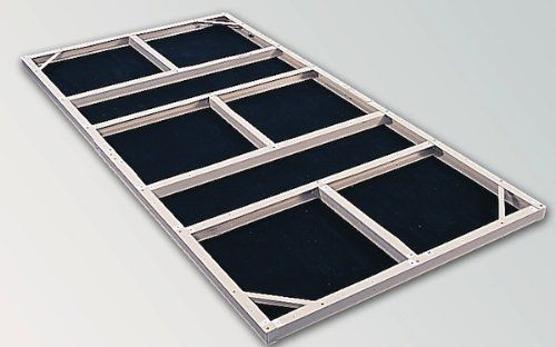 Store More Steel Foundation Kit For Mountain Blue Sheds