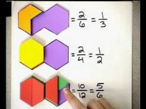 87 best Matemáticas - Pattern Blocks images on Pinterest   Pattern ...