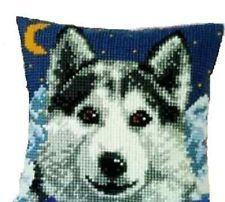 "Vervaco WOLF Cushion Front Chunky Cross Stitch Kit 16"" x 16"""