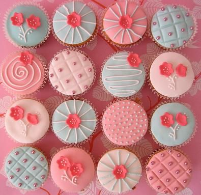 Baby Girl Cupcakes | Free Share Images