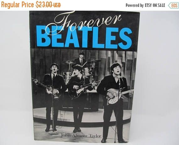CHRISTMASINJULY: Forever Beatles by John Alvarez Taylor 1992 by CellarDeals on Etsy