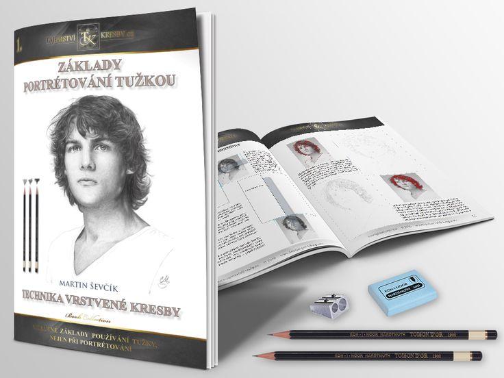 ZÁKLADY PORTRÉTOVÁNÍ TUŽKOU. 1. eBook z nové řady jednoduchých příruček pro rychlé a efektivní kreslení.