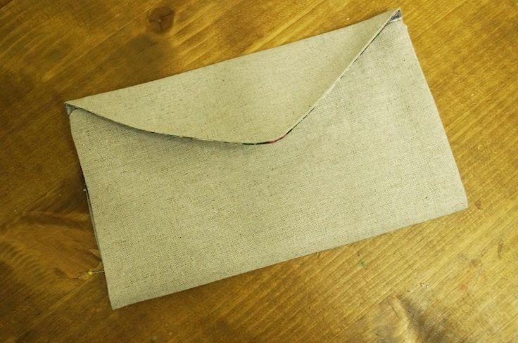 Money Holder / Fabric Envelope DIY ~ DIY Tutorial Ideas!
