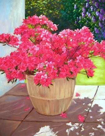 The Pink Azalea