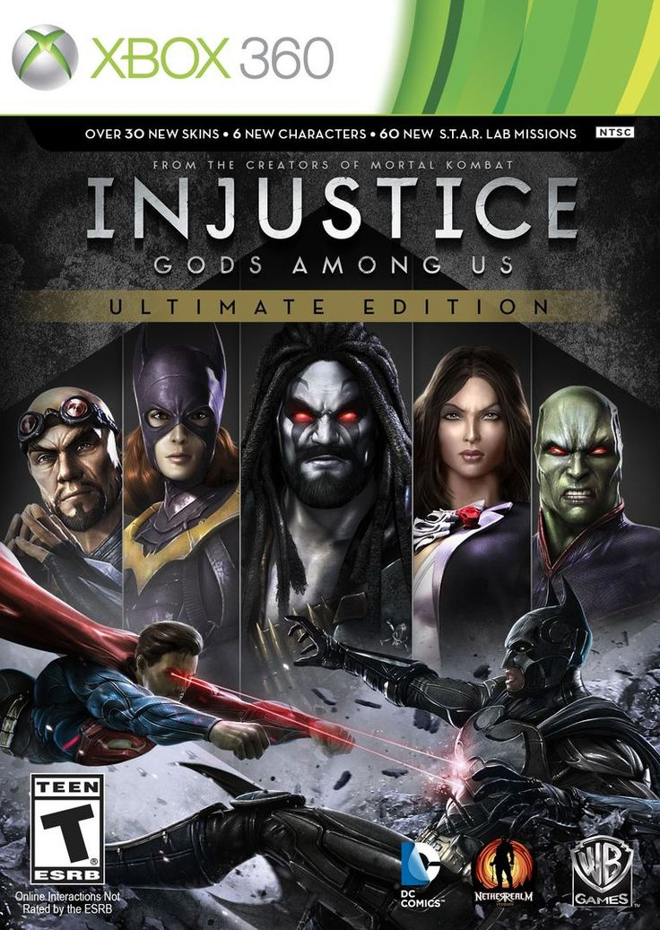 Injustice Ultimate Edition