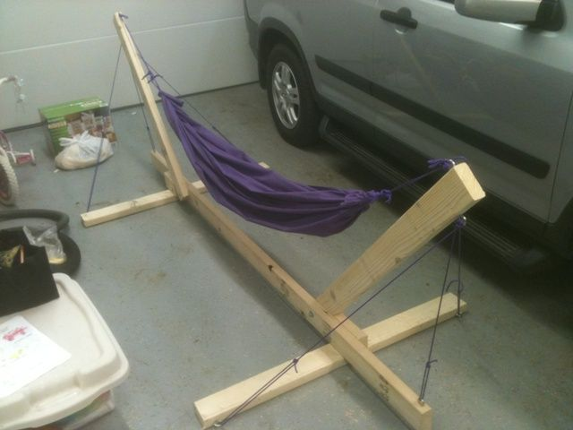 Folding Wood Hammock Stand Plans Woodworking Projects