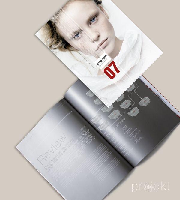 Agency: Projektagentur Weixelbaumer, Linz, Austria, Client: TGW, Project: annual report of 2007