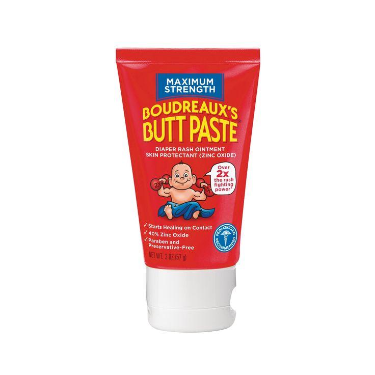 Boudreaux's Paste Diaper Rash Ointment Maximum Strength 2.0 oz