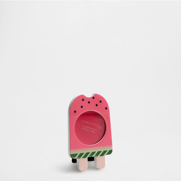 Рамка 'Арбузное мороженое' - Рамки и Коробки - Декор | Zara Home Россия / Russia