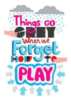 Imeus Design via L'Affiche Moderne - fun'lovin': Quote, 50 Shades, Illustration, Imeus Design, Grey, Plays, Things, Forget, Kids Rooms
