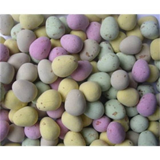 Beautiful chocolate speckled eggs for an Easter themed wedding favour.