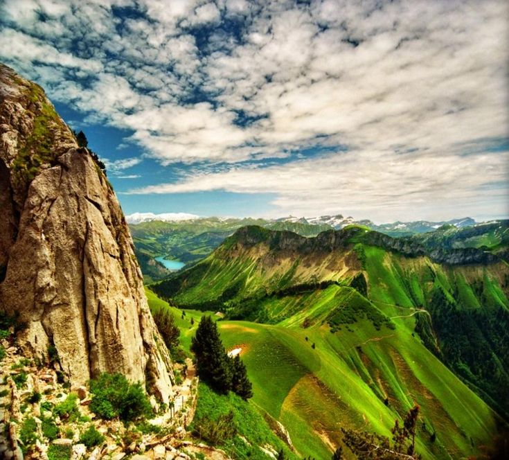 A Lush Look At The Alps