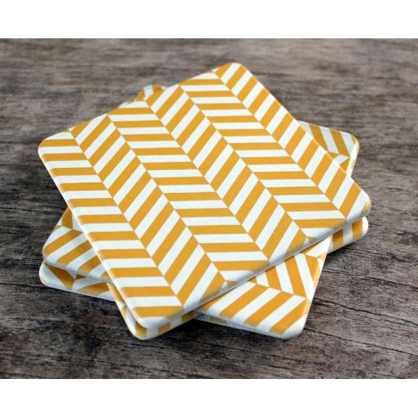 Chevron Set of 4 Coasters - Coasters Online