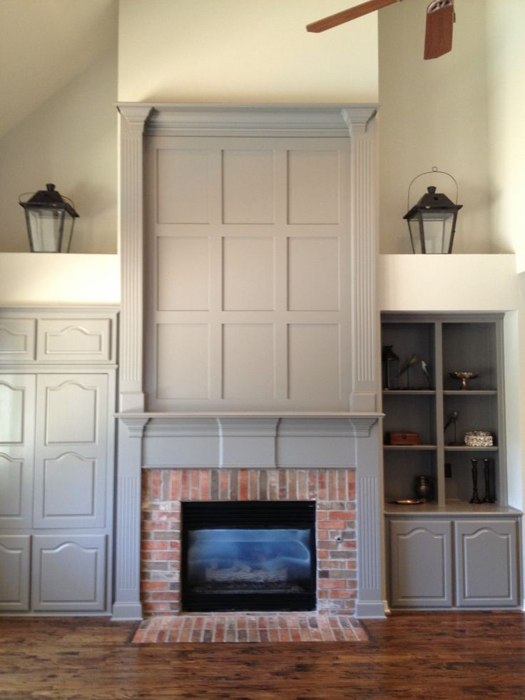 Pair Of Lanterns Above Armoire And Shelves To Unify The Two Sides W Street House Pinterest