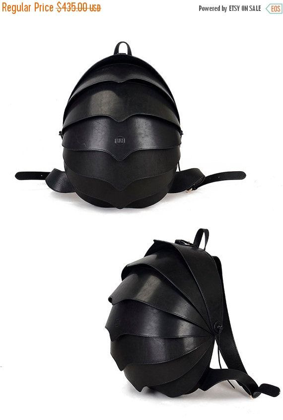 SALE Leather Backpack for Men or For Women-Large by KiliDesign
