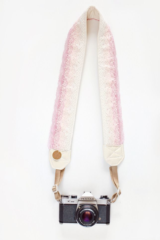 Creme Brulee Camera Strap by Bloom Theory...Oh my...I want this!!