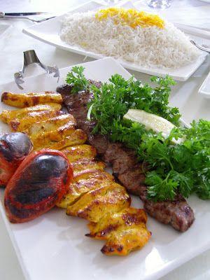 La mia cucina persiana: Spiedini di Pollo marinato alla brace - Jujeh Kaba...