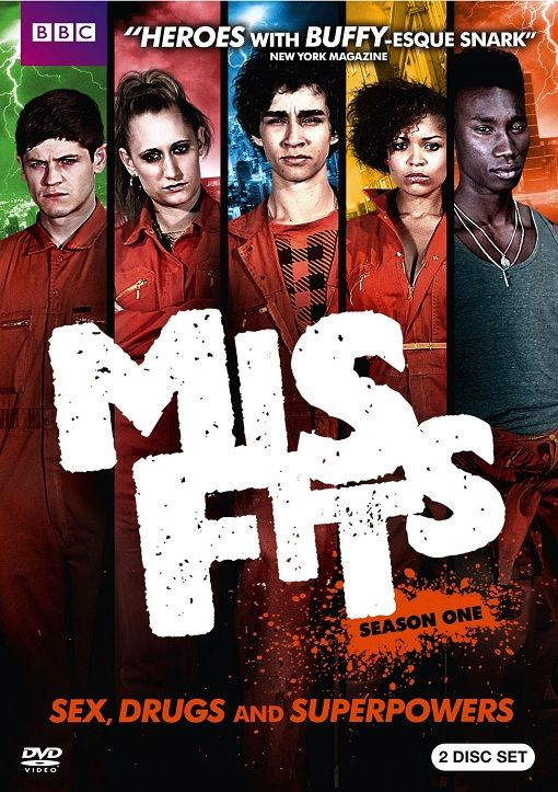 Seasons 1&2 are awesome.. season 3 was OK season 4 sucked...may/2013 - Misfits