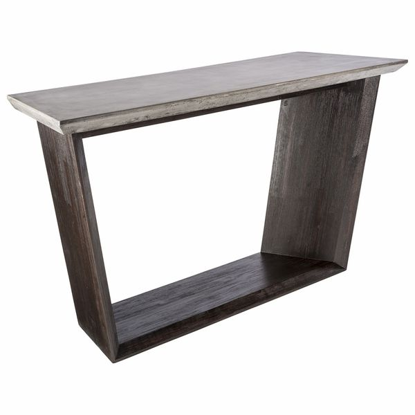 Popular Langley Console Table Plan - Lovely Driftwood sofa Table For Your Plan