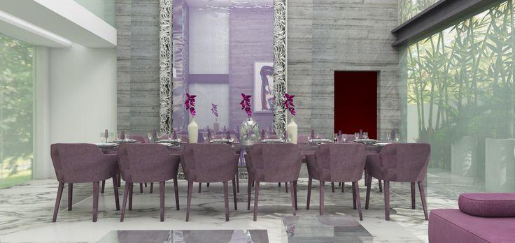 dining room, vista diamante residence, Puebla Mexico.