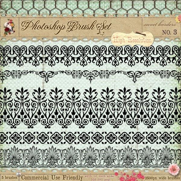Ornament Borders No. 3
