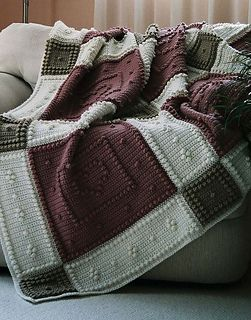 Crochet-BE MINE pattern for crocheted blanket $5.00