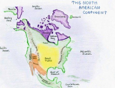 Waldorf ~ 5th grade ~ US Geography ~ main lesson book