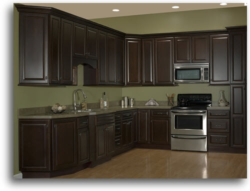 cabinets home kitchen cabinetry quincy espresso cabinets home