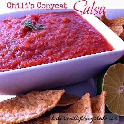 Chili's Copycat Salsa - http://www.kidfriendlythingstodo.com