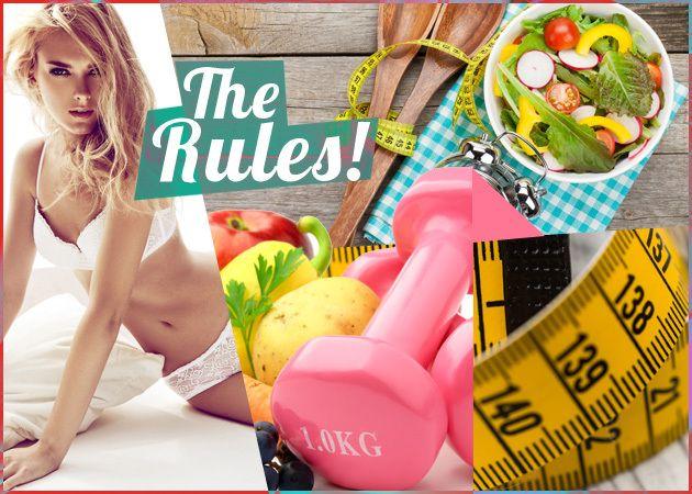 Πώς θα έχει η άσκηση μεγαλύτερο αποτέλεσμα στο σώμα σου; Πώς θα χάσεις κιλά; Τηρώντας αυτούς τους 20 κανόνες του fitness, τους οποίους πρέπει να κρατάς σαν Ευαγγέλιο!