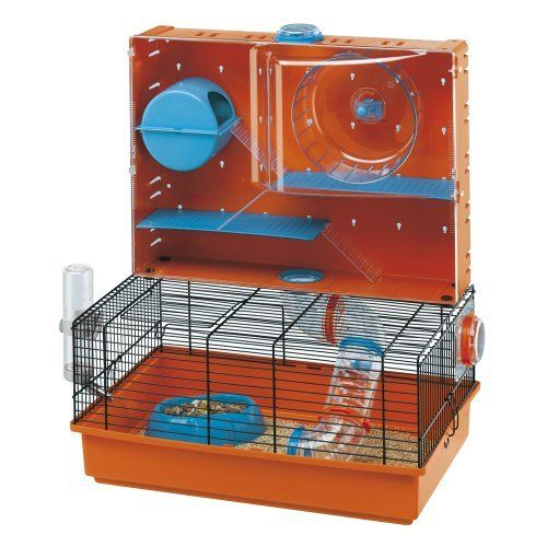 Ferplast Olimpia Hamster Cage With Accessories (this is pretty cool) $139.90 @ebay.com