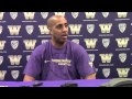 Video: Washington head coach Lorenzo Romar