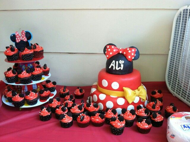 Birthday Cake Images Minnie Mouse