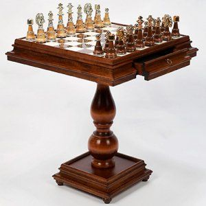 Chess Tables for Sale on Hayneedle - Chess Table Sets