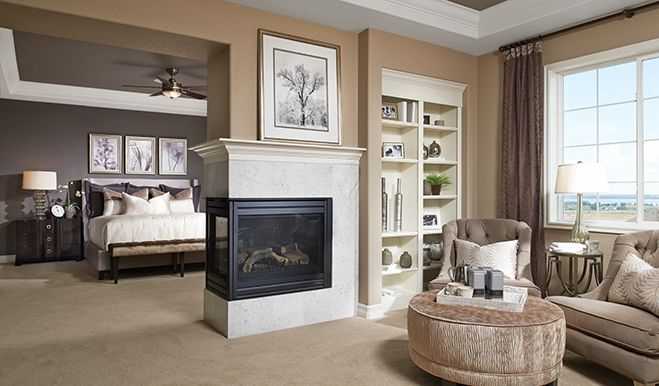17 best images about bedrooms we love on pinterest cozy for House plans with fireplace in master bedroom