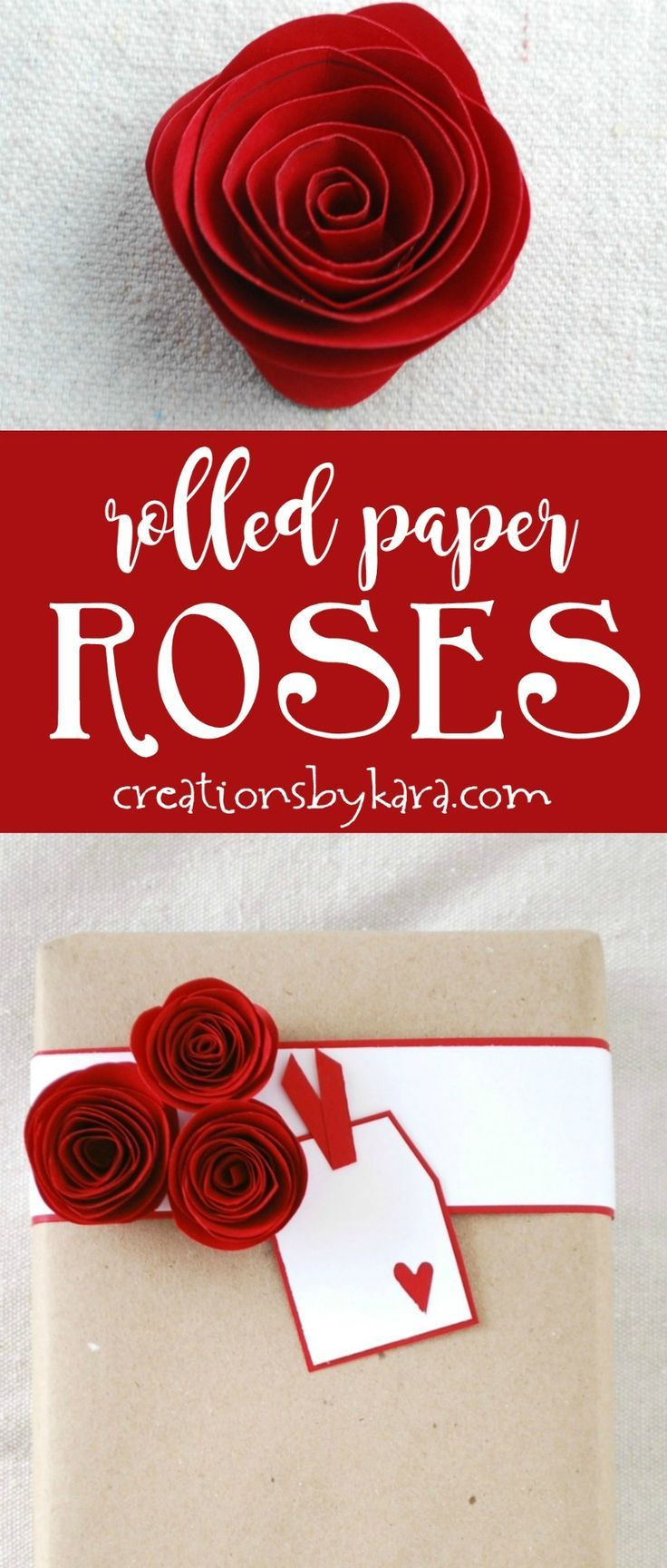 How To Make Beautiful Rolled Paper Roses Use Them For Craft