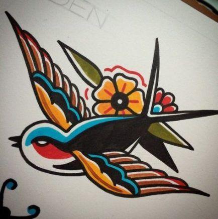 Beste Tattoo traditionelle Ärmel Old School 38+ Ideen   – Hair♥ Nails♥ Beauty♥ Tattoos♥ Piercings♥