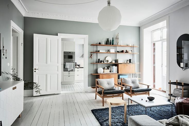 An inspiring apartment in Gothenburg is now out for sale via Alvhem | Photo by Anders Bergstedt Follow Style and Create at Instagram | Pinterest | Facebook | Bloglovin