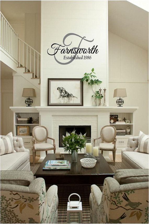 Best Silhouette Name Signs Images On Pinterest - Wall decals entryway