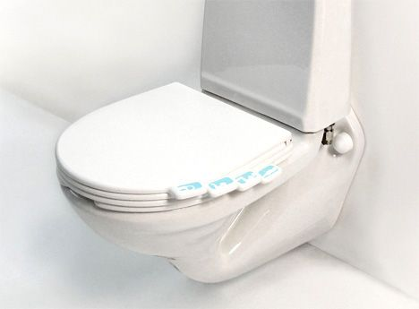 Personal toilet seat...everyone has their own seat! ahahahahaha.