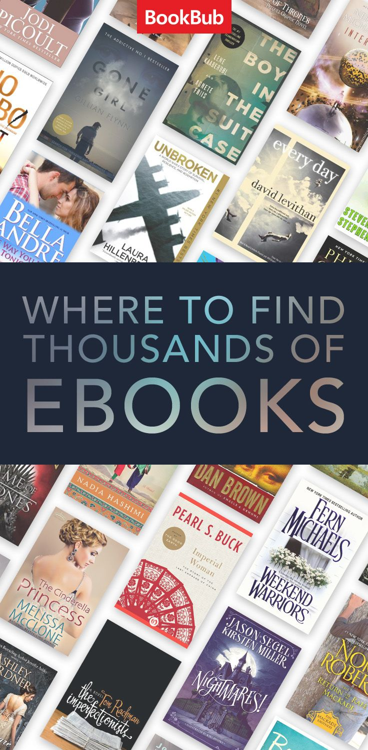 Find Ebooks That'll Make You Fall In Love With Reading Again: Join The