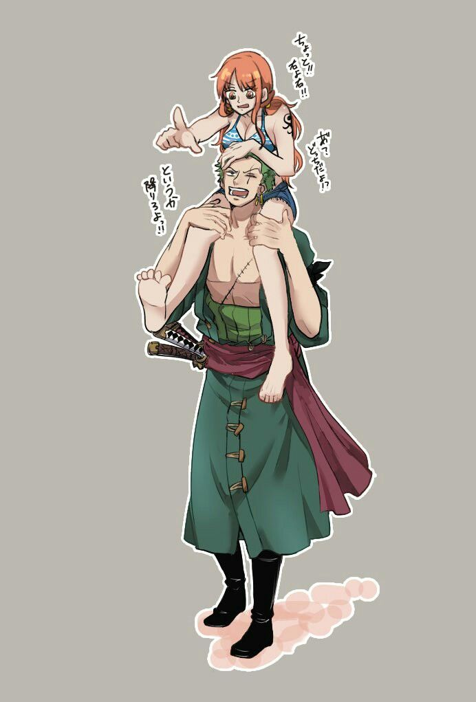 Siga Em Frente One Piece Nami Zoro One Piece One Piece Anime
