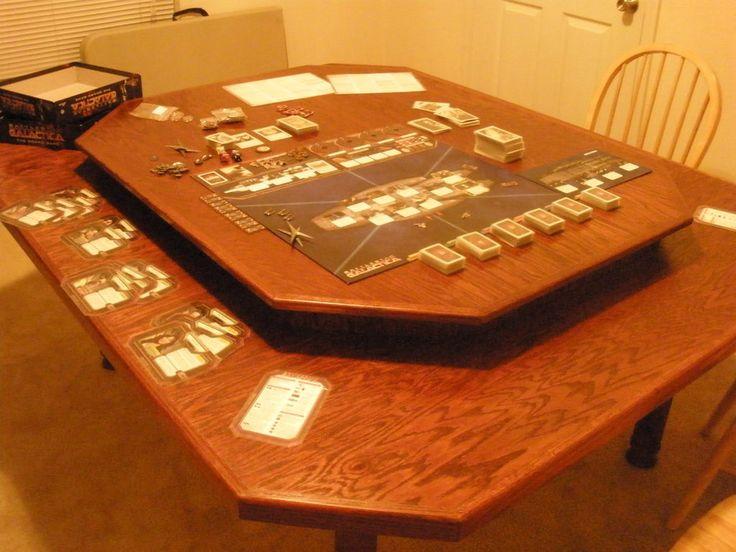 Gaming table by Adonai_80 | Image | BoardGameGeek #tabletop