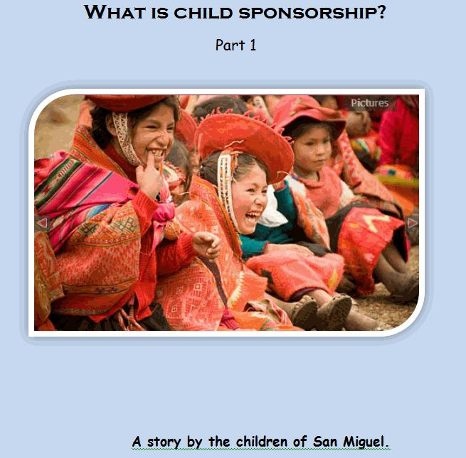 The first shell book for introducing sponsorship to children. It can be…