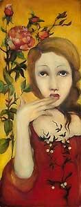 Your Name is Safe in My Mouth - Cassandra Christensen Barney - World-Wide-Art.com - $325.00 #CassandraBarney