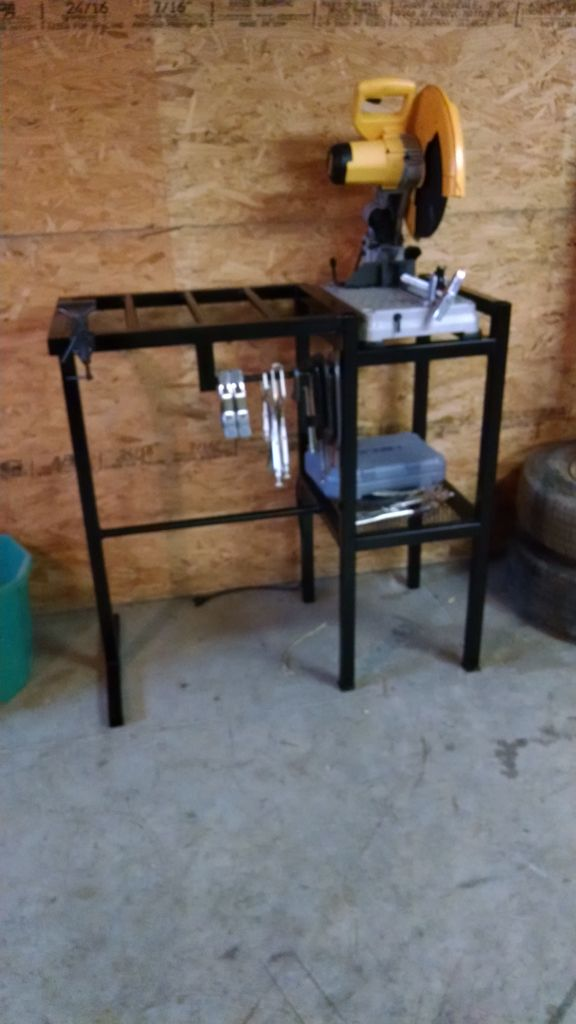 Chop Saw Stand Welding Garage Tools Welding Table
