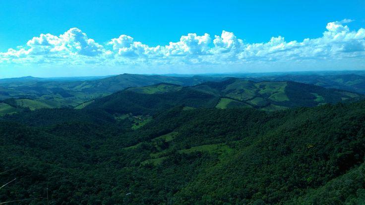 Mar de morros, Parque Estadual do Ibitipoca - Conceição do Ibitipoca em MG, Brasil.