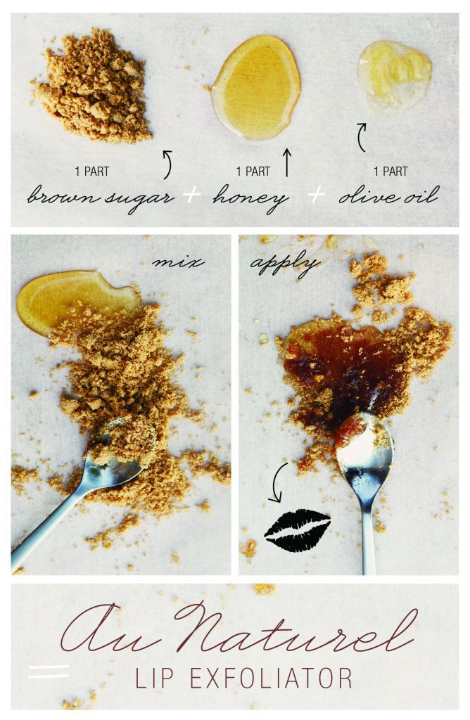 home made lip exfoliator- for repair after harsh conditions (or a dehydrating weekend!)