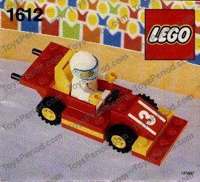 LEGO 1612 Race Car and Driver Polybag Image 1