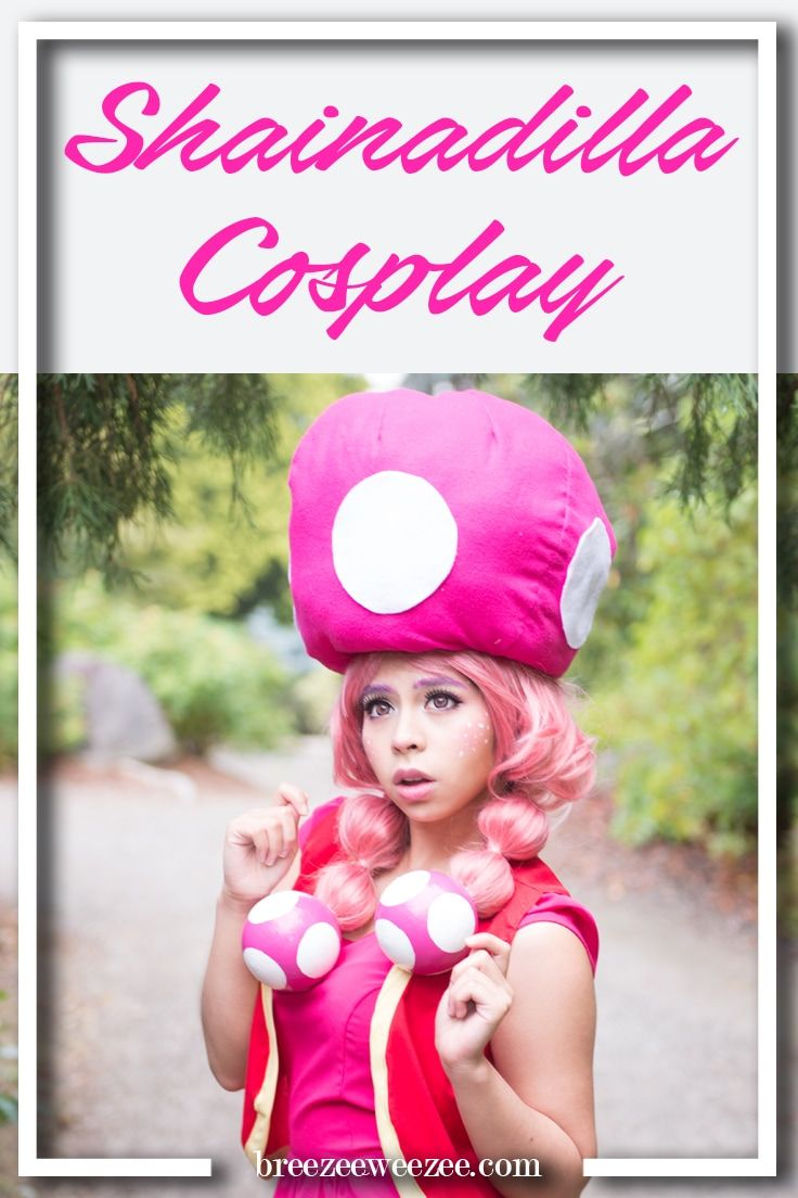 Breezeeweezee Cosplay Blog Feature Friday Interview with Shainadilla cosplay as toadette from Mario and luigi party kart